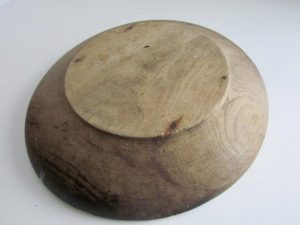 Chestnut wood bowl