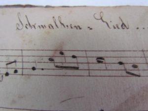 German music book