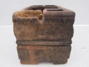 17th. century open spice box