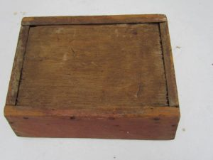 original painted apple box
