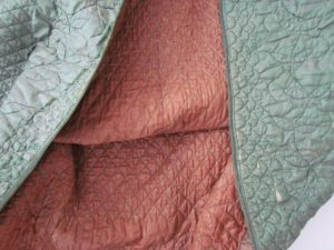 Mississippi cotton quilted petticoat