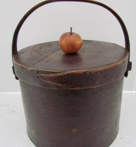 18th. century_bail handled pantry box