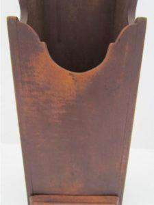 original brown painted surface