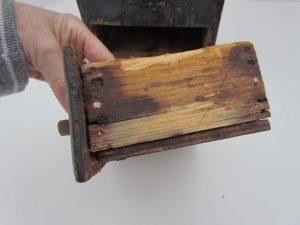 salt box with drawer
