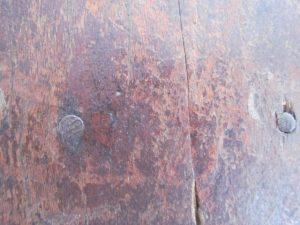 child's chair_Walnut wood