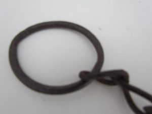 black smithed chain