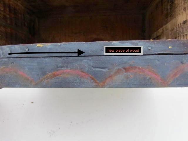 painted wall box