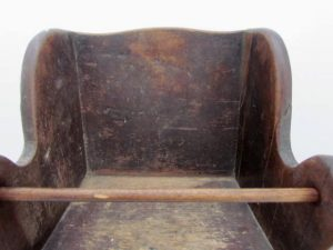 18th century_child's wing chair