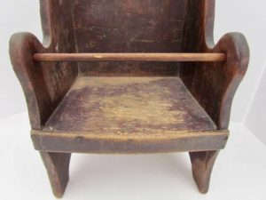 Pa. _child's wing chair