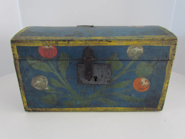 painted dome box