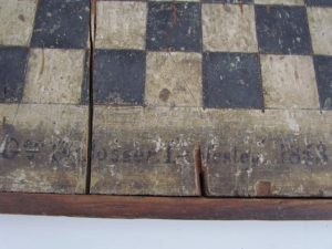 dated 1853 gameboard