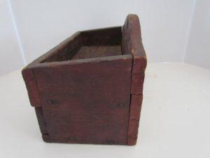 mid 19th. century wall box